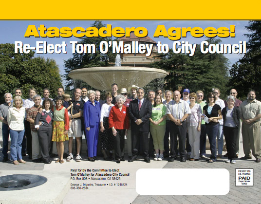 Tom O'Malley for Atascadero City Council